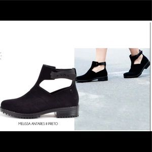 Melissa Antares II Open Boot in Black